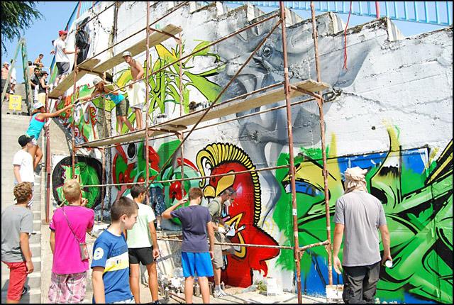 jaz-Street-art---Crtanje-grafita-2012