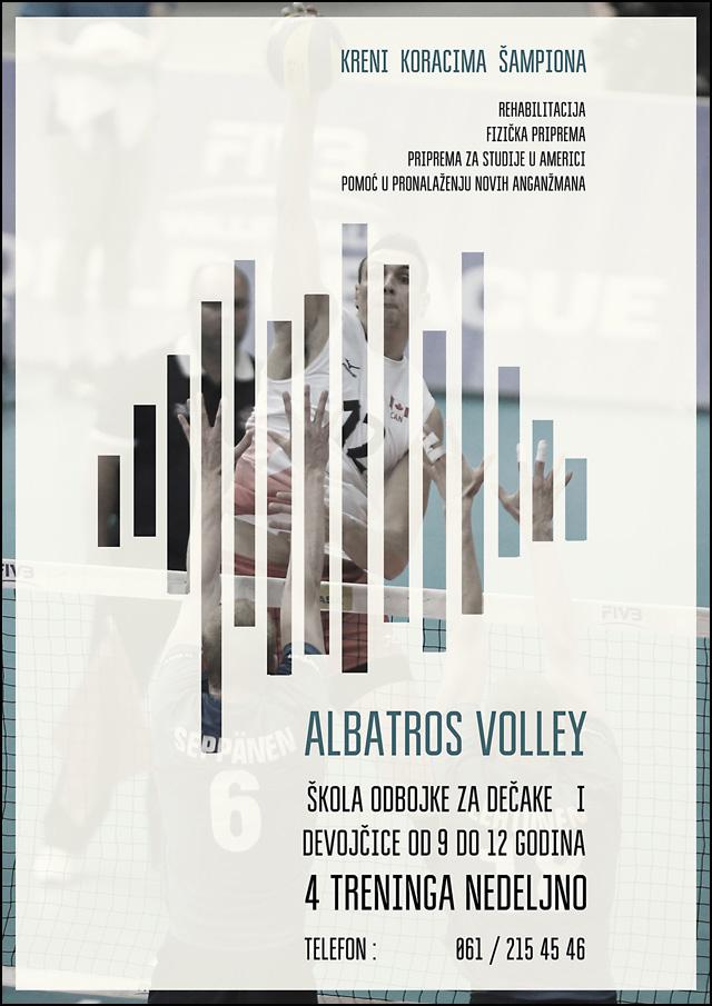 albatros-odbojka