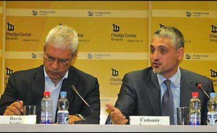 Boris Tadic, Cedomir Jovanovic