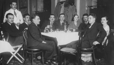 Hotel Kren docek Nove godine, 1933.g.