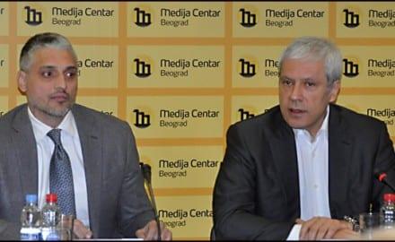 Čeda Jovanović i Boris Tadić