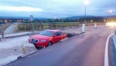 Udes, most, Požega