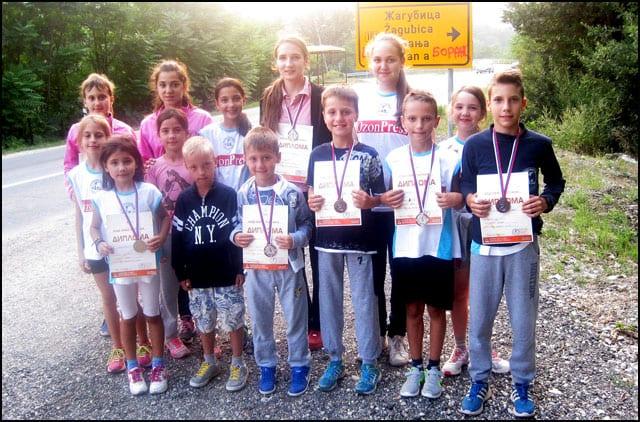 Najmlađi atletičari ČAAK-a u Boru