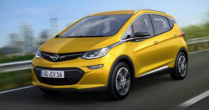 Opel, elektroautomobil