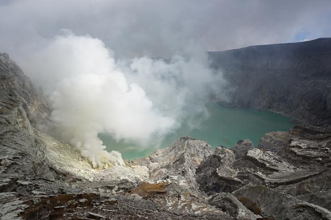Vulkan Kavah Ijen, Java