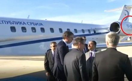 Vučić avion