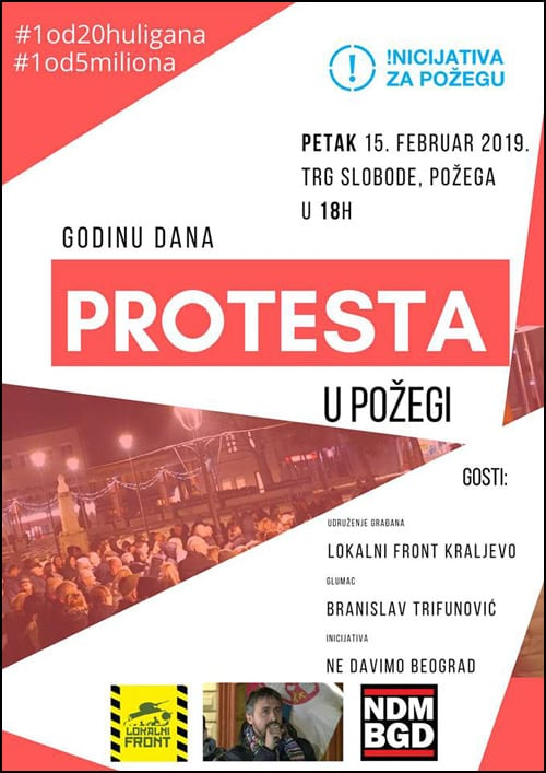 Požega-protest